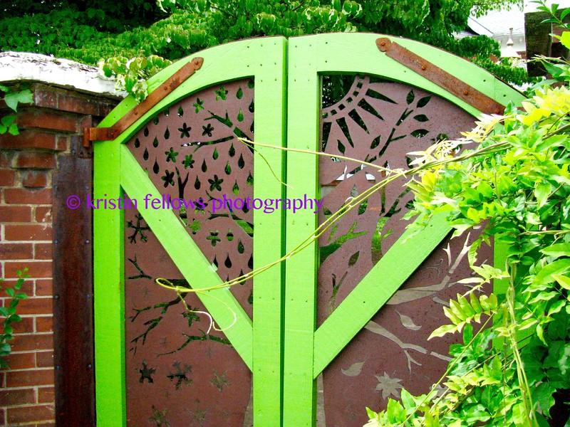 garden gate, west asheville