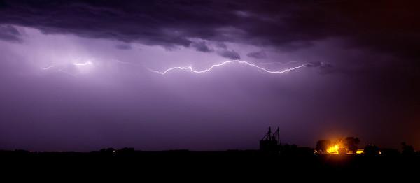 Lightning Arc Over Farm-1693