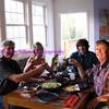 toasting leif's birthday