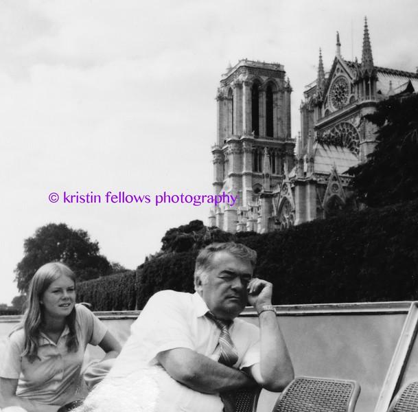 me & dad on the seine in paris, 1977