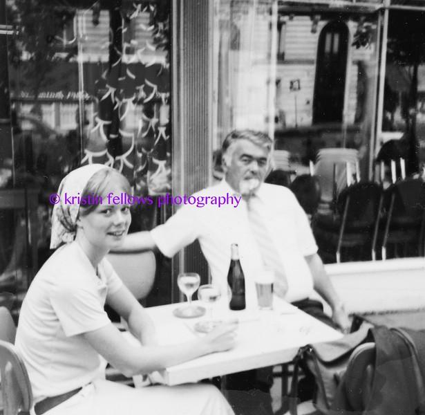 me & dad, paris 1977