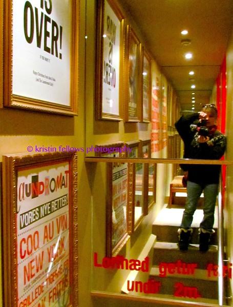 kristin at the laundromat café