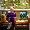 mormor on the front porch