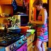 zoë in the kitchen