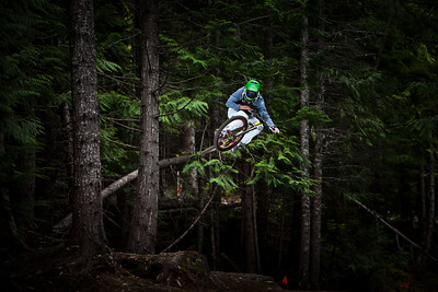 Whistler bike park in Canada