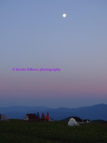 sunrise at base camp