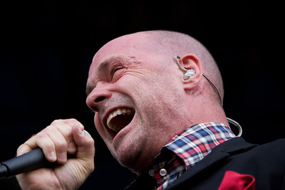 The Tragically Hip performing at Pemberton Festival in Canada