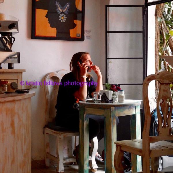 Café Oso Azul, San Miguel de Allende
