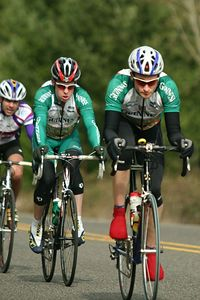 OBRA Banana Belt Race Riders circle Hagg Lake