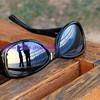 along the swiss riviera ~ sunset in sunglasses