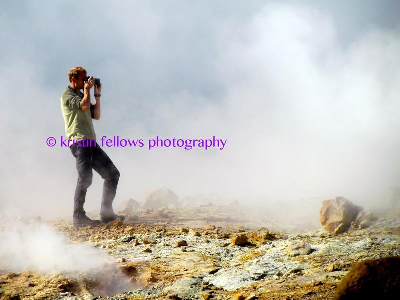 Krýsuvík, Iceland's seltún mud pots & steam vents