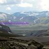 the drive to landmannalaugar through central iceland