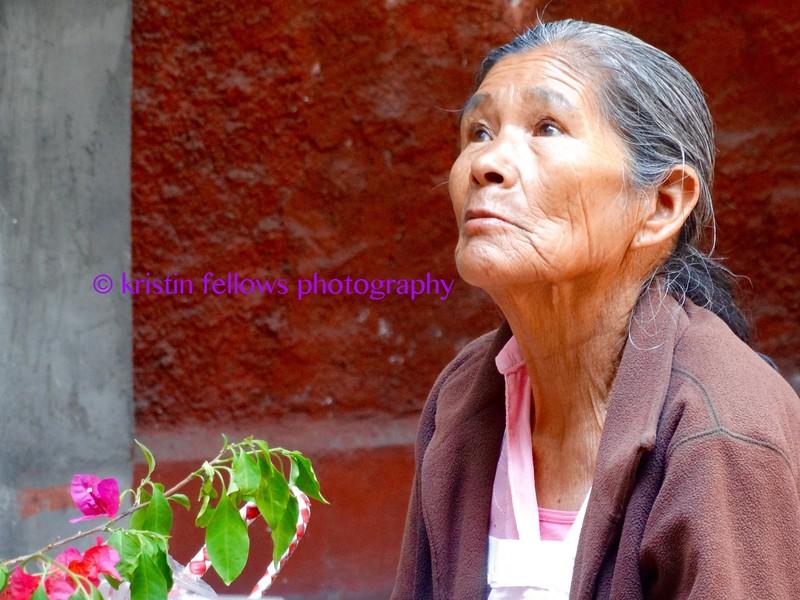 The Cactus Lady, San Miguel de Allende