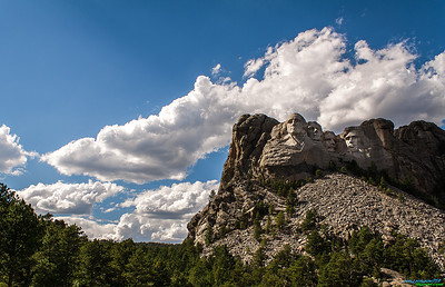 My take of Mt. Rushmore