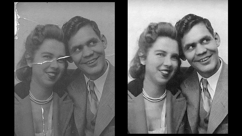 My Aunt and Uncle circa 1940.