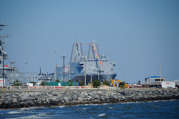USS Arlington Commissioning 04.06.2013