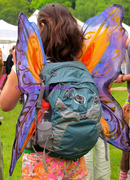 fairy with a backpack