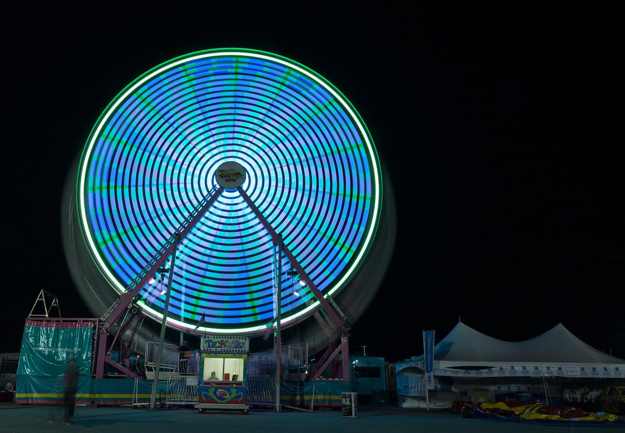 Ferris wheel time lapse 9079