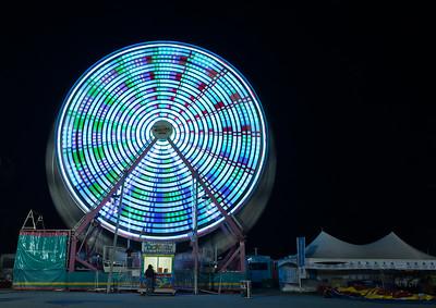 Ferris wheel time lapse 9077