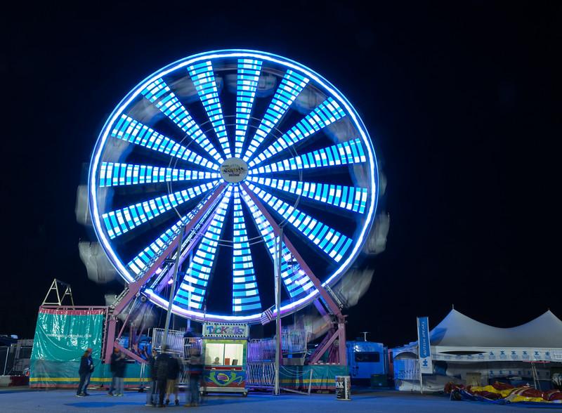 Ferris wheel time lapse 9073