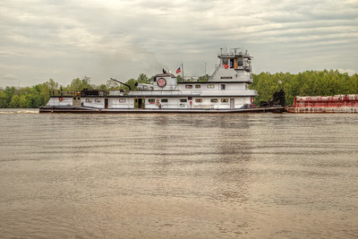 Towboat on the Ohio