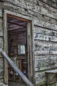 Callaway Gardens Log Cabin-HDR