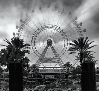 Big Wheel & Fog via iPhone