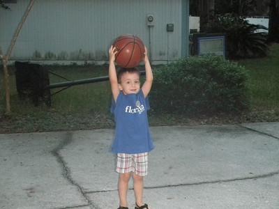 Played Basketball w Papa Tim (2)
