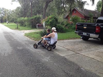 Go Cart w Uncle Josh (1)