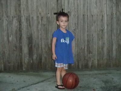 Played Basketball w Papa Tim (3)