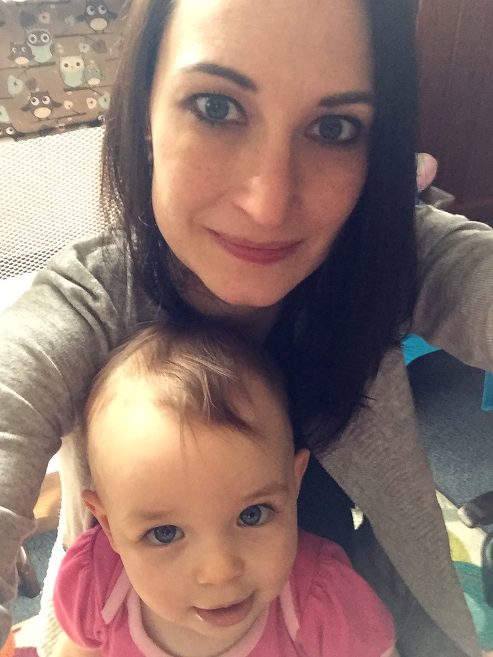 Mommy Daughter Selfie