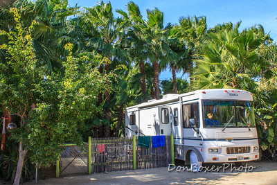 Our home in Los Barriles, Bobby's RV.