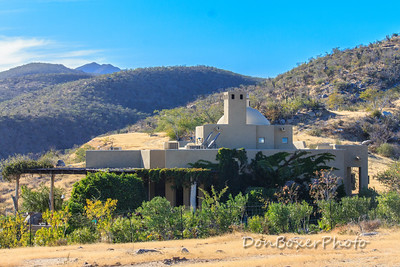 Our friends, Melanie and Gerry's gorgeous hacienda on the hill.