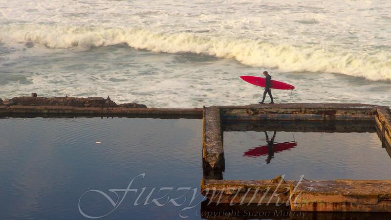 Surfer at Sutro
