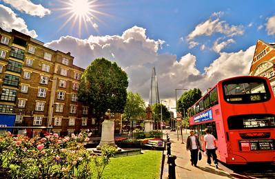 London on foot
