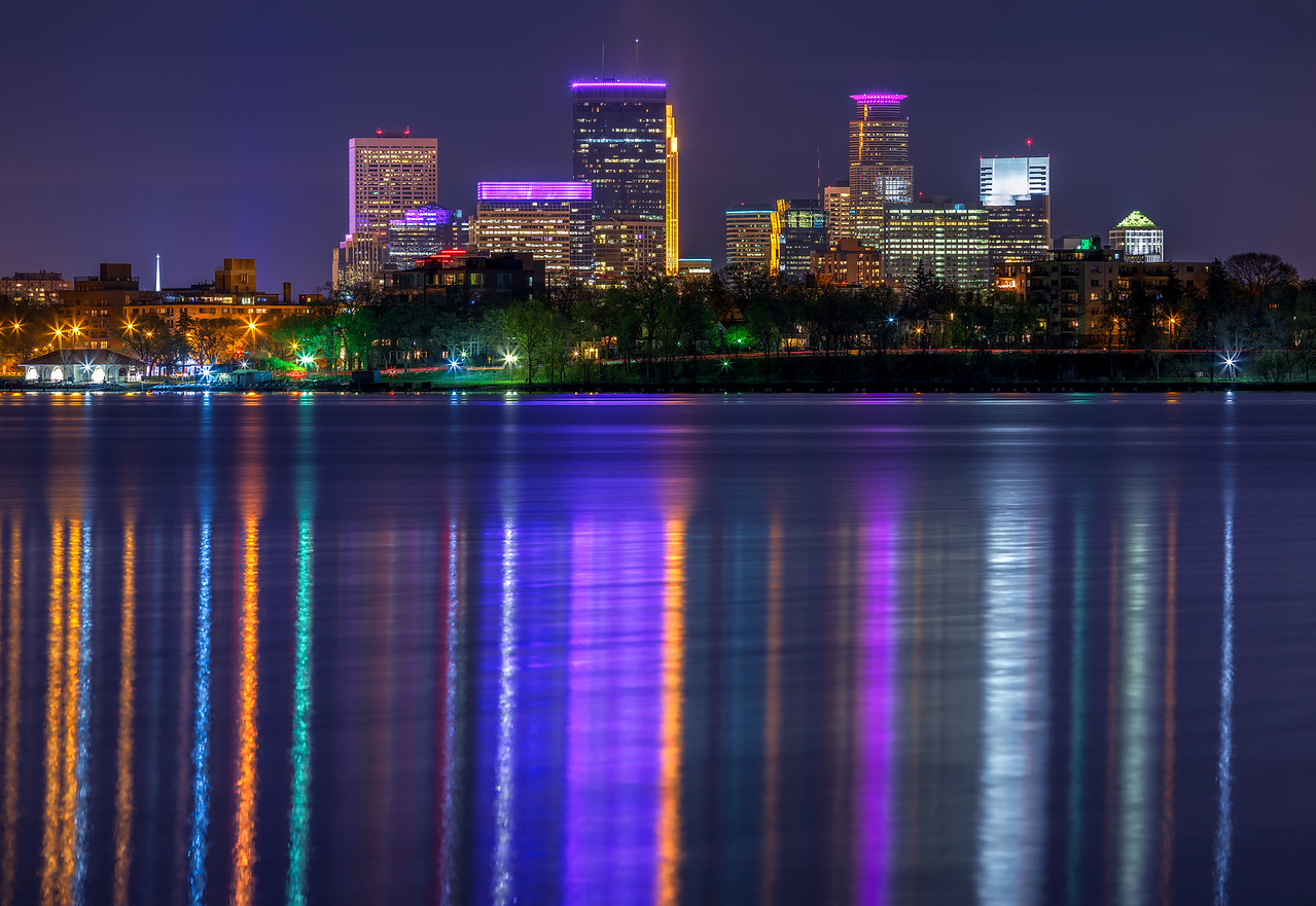 Calhoun Reflections in Purple