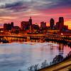 Sunset from Dayton's Bluff