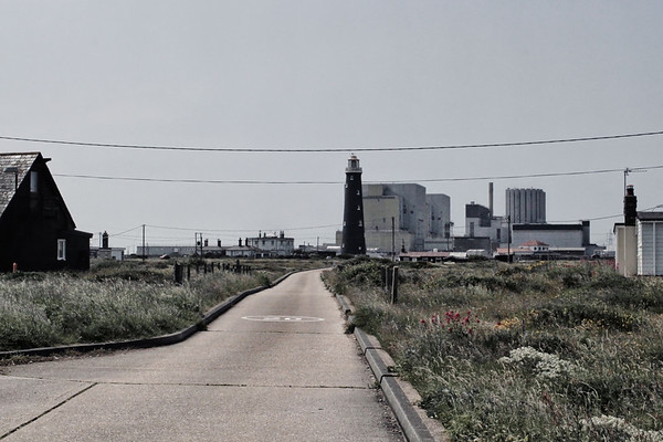Lighthouse and nuclear power station, Dungeness