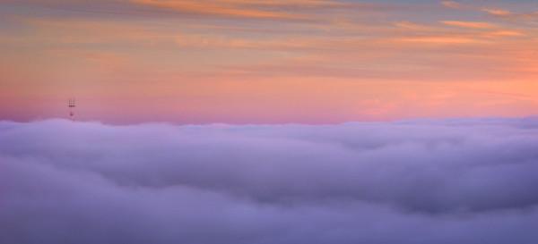 San Francisco Fog Ocean