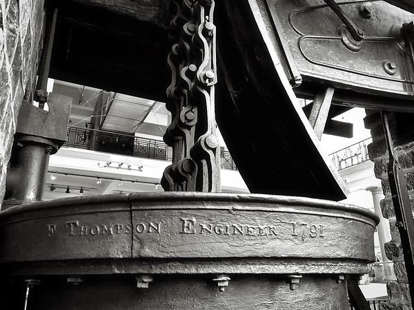 Steam engine, 1791