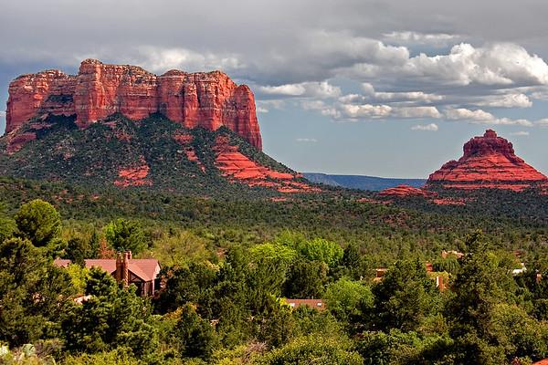 Beautiful red rocks of Sedona Arizona.