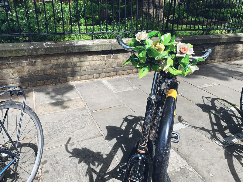 Flowered handlebars