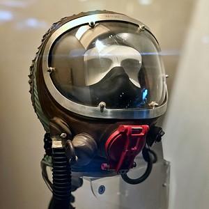 Harrison pilot helmet