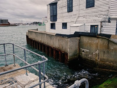 Slipway in Portsmouth Harbour