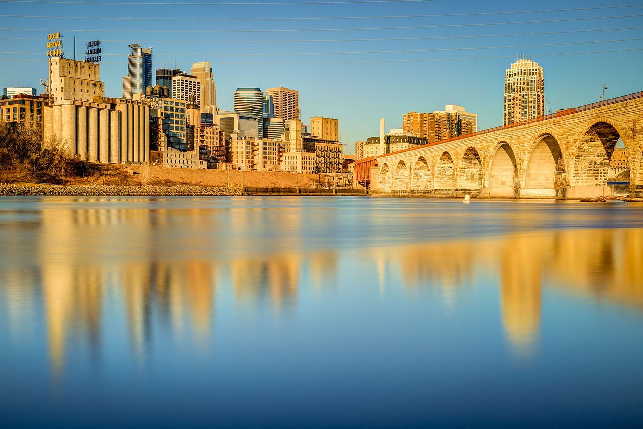 Stone Arch Morning
