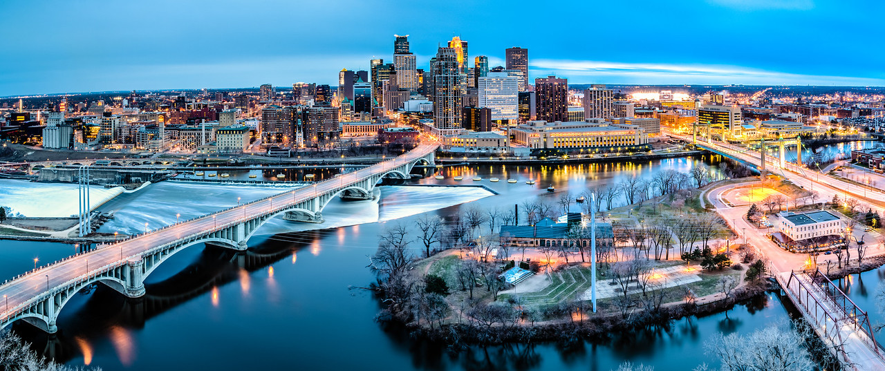 Riverfront at Twilight