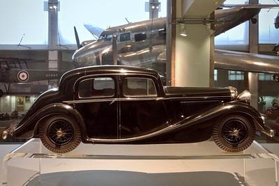 Jaguar 2.5-litre motor car, 1938