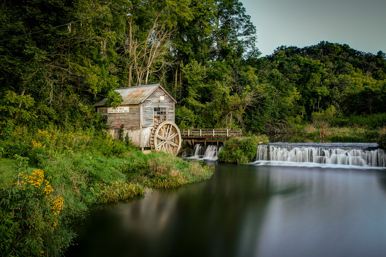 Twilight at Hyde's Mill