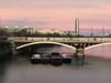 On Chelsea Bridge at dusk