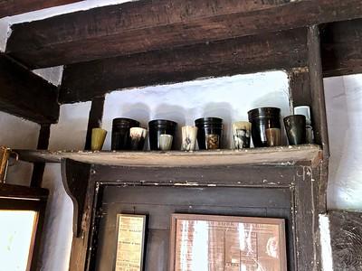 Horn cups, Smallhythe Place